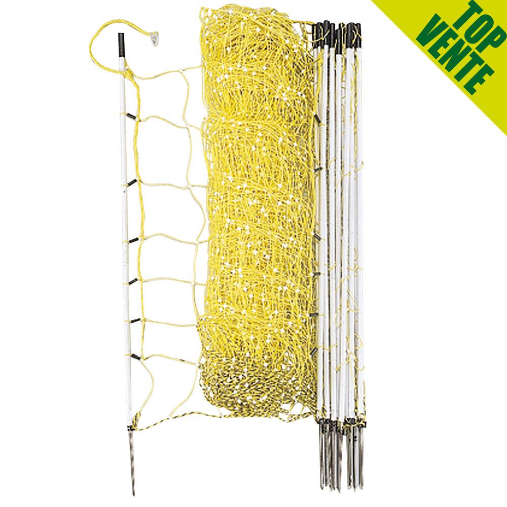 filet lectrifiable 50 m x 0 90 m pour mouton ntd. Black Bedroom Furniture Sets. Home Design Ideas