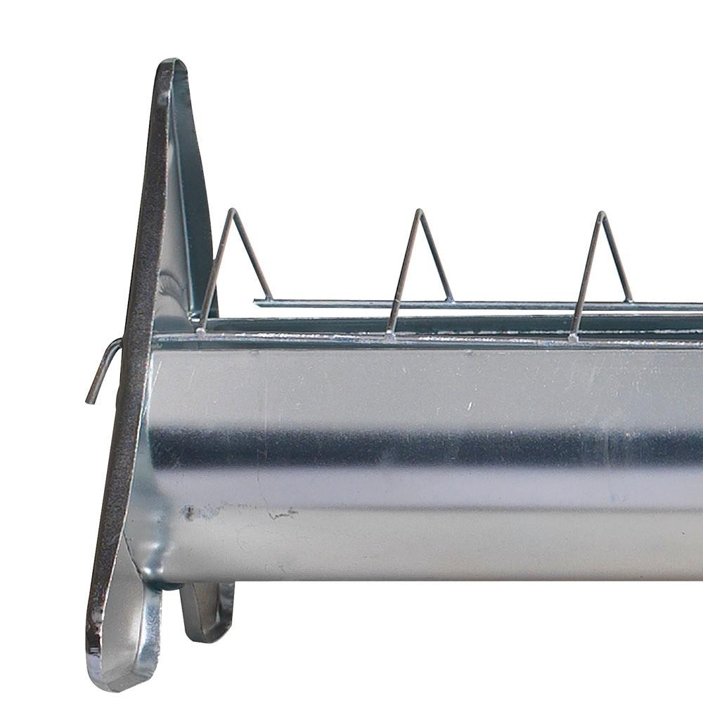 mangeoire en acier galvanis grille mobile 75 cm pour 10. Black Bedroom Furniture Sets. Home Design Ideas