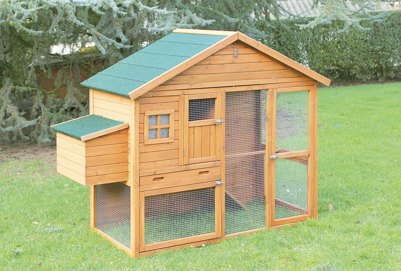 poulailler dakota pour 4 6 poules ukal. Black Bedroom Furniture Sets. Home Design Ideas