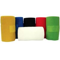 Bande cohésive couleurs standard, lot de 18