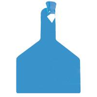 Boucle une pièce ZTAG BOVIN bleue x30