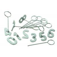 Série de numéros à marquer 0 à 9, 10 cm
