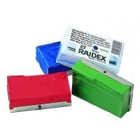 Bloc marqueur RAIDEX  pour harnais - Rouge