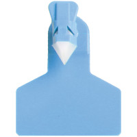 Boucle  ZTAG une pièce pour Ovins Bleu x30