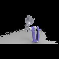 Seringue premium porte flacon 0.5ml + protection