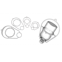 Support plastique SIMCRO pour flacon 50 ml