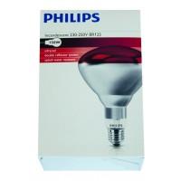 Ampoule PHILIPS IR à vis rouge 150 w