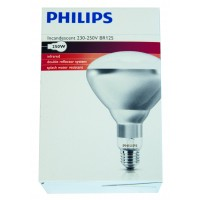 Ampoule PHILIPS IR à vis blanche 250 w
