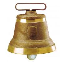 Cloche ronde en fonte de laiton n° 7