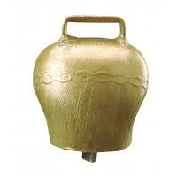Cloche en acier bombé coloris bronze 110 mm
