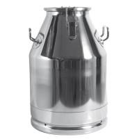Bidon de lait pour transport en acier inox 30L