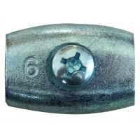 Raccord pour cordon entre diamètre 4 et 6.5mm