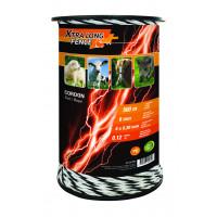 Cordon de clôture, 6 mm x 500 m XTRALONGFENCE