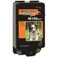 Poste XTRA LONG FENCE M100 pet - 230V