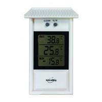 Thermomètre digital mini maxi blanc