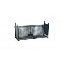 Cage à rats avec glissière, 2 entrées, 50 x 20 x 20 cm BOXTRAP