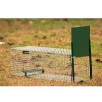 Boîte à fauve 1 entrée 82 x 32 x 31 cm pour fouine et rat
