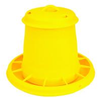 Nourrisseur à trémie jaune WIN, 7 kg