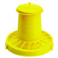 Nourrisseur à trémie jaune WIN, 18 kg