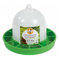 Nourrisseur à trémie ligne verte, 2,5 kg