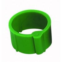 Bague à clips pour volailles 8 mm vert