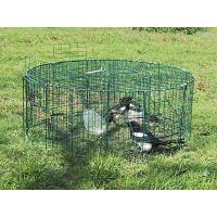 Cage à pie ronde à 5 compartiments BOXTRAP
