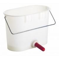 Seau à veau complet en plastique complet 14 litres
