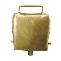 Cloche en acier droit coloris bronze 100 mm