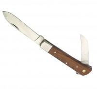 Couteau de berger inox lames 8 et 5,5 cm