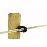 Isolateur RBR mixte pour poteau bois ou metal