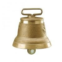 Cloche ronde en fonte de laiton n° 5
