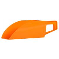 Pelle en plastique orange