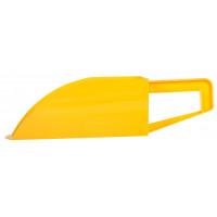 Pelle en plastique jaune