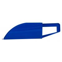 Pelle en plastique bleu