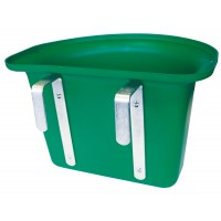 Mangeoire de porte verte sans anse