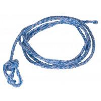 Licol Sisal/PP bleu et blanc diamètre 12 mm 4m