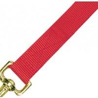 Licol nylon poulain rouge