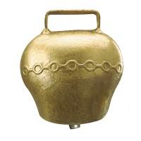 Cloche en acier bombé coloris bronze 75 mm