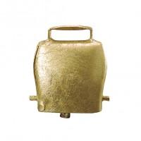 Cloche en acier droit coloris bronze 75mm