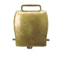Cloche en acier droit coloris bronze 85mm