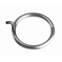 Anneaux auto-percants en inox diamètre 60 mm
